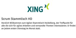 Agiler Stammtisch Heidelberg